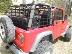 One Piece Wrap-Around Net for Jeep Wrangler TJ and YJ (1992-2006)