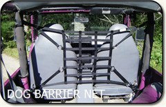 "Jeep ""Dog Barrier Net"" for Jeep Wranglers 1992-2006"