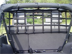 Rear Cargo/Dog Barrier Net for 4 Door Jeep Wrangler JK (2007-2015)