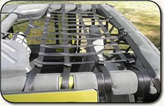 Jeep Rear Overhead Net for 4 Door 2007-2014 Jeep Wrangler JK