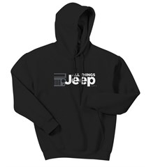 All Things Jeep Adult Hooded Sweatshirt (Multiple Colors)