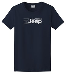 All Things Jeep Women's Short Sleeve T-Shirt