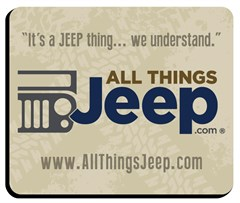 Mousepad - All Things Jeep Logo