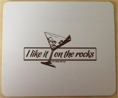 Mousepad - I Like it on the Rocks