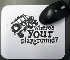Mousepad - Where's Your Playground? Cherokee