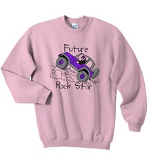 Future Rock Star Sweatshirt, Pink, for Jeep Girls