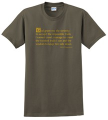Off-Roaders Serenity Prayer Men's T-Shirt