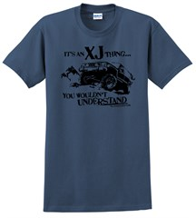 "Closeout - ""It's an XJ Thing"" Men's T-Shirt for Jeep Cherokee Owners"