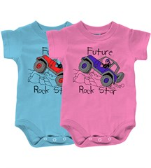 "Baby  ""Future Rock Star"" Infant Romper for ""Jeep Babies"""
