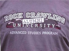 """Rock Crawling University - Alumni"" Off-Road T-Shirt"