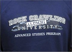 """Rock Crawling University - Alumni"" Pullover Hooded Sweatshirt"
