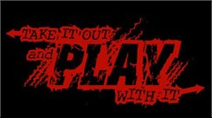 "Offroad Apparel: ""Take it out and Play with It"" Ladies Black Tee"