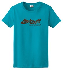 """This Dirty Girl Cleans Up Nicely"" Ladies Short Sleeve Tee"