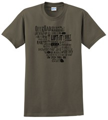 Off-Road Adventure WORDS T-Shirt, Men's
