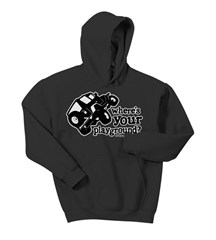 Where's Your Playground? Wrangler Kid's Hoodie Sweatshirt (Multiple Colors)