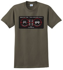 "Clinometer ""Roll Me Over"" Mens' Tee"