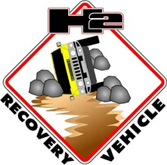 H2 Recovery Vehicle Decal
