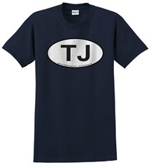 Oval Jeep TJ Logo Men's Tee