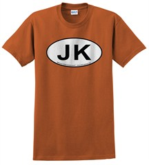 Oval Jeep JK Logo Men's Tee