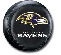 Baltimore Ravens NFL Tire Cover - Black Vinyl