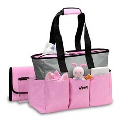 all things jeep jeep diaper bags pink micro fiber tote discontinued. Black Bedroom Furniture Sets. Home Design Ideas