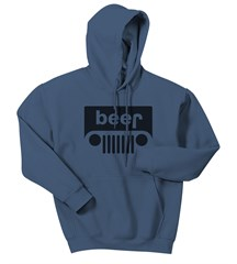 Beer Jeep Hooded Sweatshirt