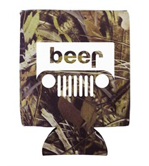 Beer Jeep Logo Neoprene Koozie