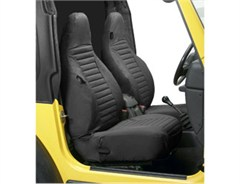 Bestop Front Seat Covers- Jeep Wrangler TJ 97-02 High Back Seats