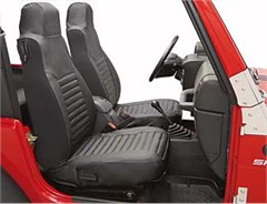 Bestop High Back Front Seat Covers - Jeep Wrangler TJ 2003-2006