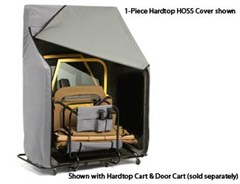 Bestop HOSS Cover for 2-Piece Hardtops for Jeep CJ, YJ, TJ- Gray