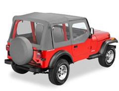 Bestop Replace-a-top Skin w/Clear Windows & Door Skins YJ 1988-1995