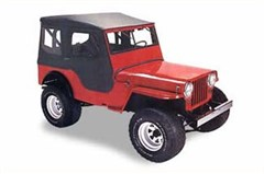 Bestop Tigertop� Softop for Jeep®s, CJ-3B