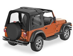 Bestop Sunrider Soft Top w/Clear Windows TJ 2003-2006