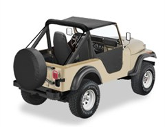 Bestop Traditional Bikini Top for Jeep CJ5 (1976-1983)
