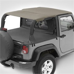 Header Safari Bikini� by Bestop for 2 Door Jeep Wrangler JK (2007-2009)