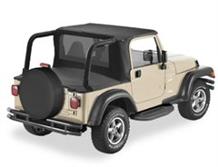 Bestop Halftop - hardtop hardware for Jeep Wrangler, 1997-2002