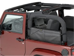 Saddle Bag Jeep Wrangler JK 2 Door 2007-2016 Black Diamond Bestop