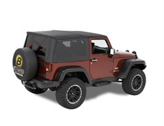 Bestop Supertop Complete Soft Top Kit for 2 Door JK 2007-2015