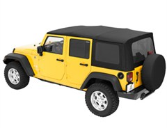 Bestop Supertop Complete Soft Top w/Tint - Jeep 4D JK 2007-2015