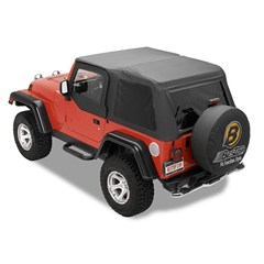 Bestop Trektop Frameless Soft Top w/Tint Windows TJ 1997-2006