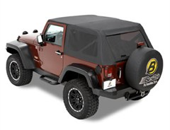 Bestop Trektop Frameless Soft Top for Jeep Wrangler 2 Door 2007-2017