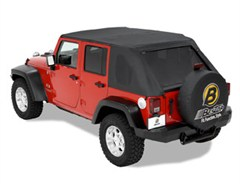 Bestop Trektop Frameless Soft Top 4 Door JK 2007-2014