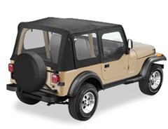 Bestop Sailcloth Replace-a-top� for Jeep® Wrangler, 88-95 (includes half door skins)