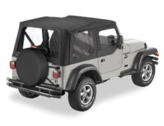 Sailcloth Replace-a-top, Clear Windows, Door Skins-Jeep TJ 03-06