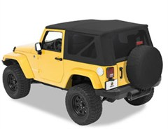 Bestop Sailcloth Replace-a-top Skin w/Tint Windows 2 Door JK 2007-2009