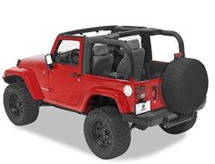 Bestop Sport Bar Covers, for Jeep&reg; Wrangler, 2 Door 2007-2009