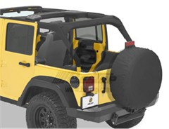 Bestop Sport Bar Covers, Jeep® Wrangler JK Unlimited 4 door, 07-14