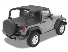 Bestop Windjammer &quot;Windbreaker&quot; for Jeep&reg; Wrangler 2 door 07-12