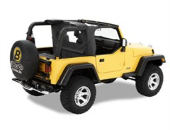 Bestop Windjammer, Wrap Around-Jeep Wrangler TJ/LJ