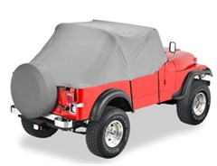 All Weather Trail Cover for CJ-7 & Jeep® Wrangler, 76-91, #81035